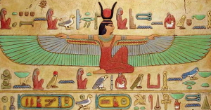 Nephthys And Set