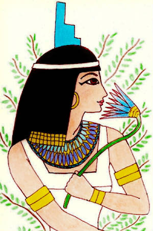 Isis The Lady Of The Lotus